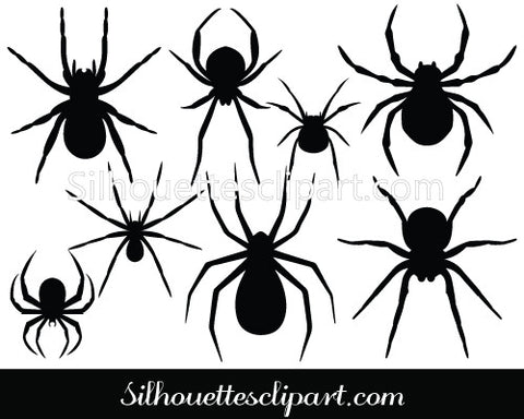 Halloween-spider Vector Graphics