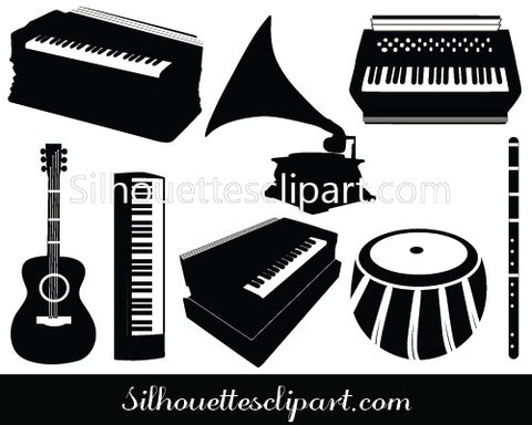 Musical Instrument Vector Graphics
