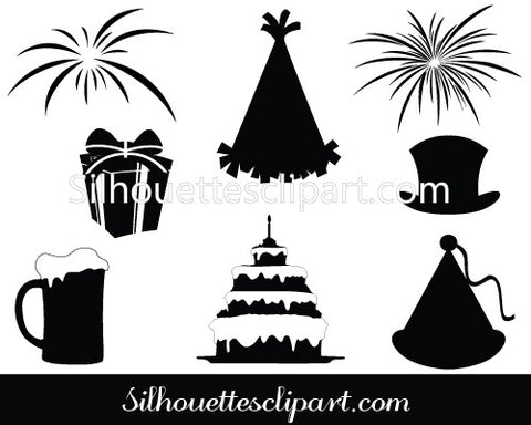 New Year Vector Graphics