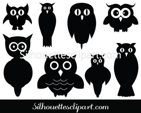 download owl silhouette vector clipart silhouettes vector rh silhouettesclipart com Owl Outline Clip Art Owl Outline Clip Art