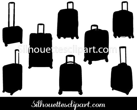 Samsonite Silhouette Vector