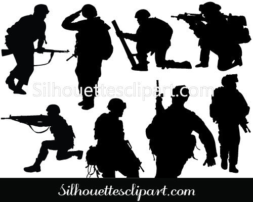 Soldier Vector Graphics