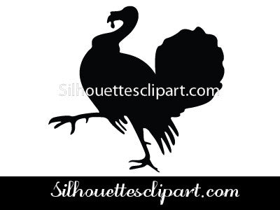 Thanksgiving Bird Vector Graphics