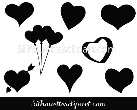 Valentines Heart Vector Graphics
