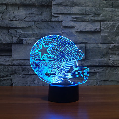 LAMPZ™ Dallas Cowboys 3D LED Lamp