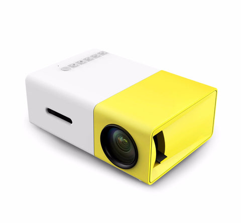 "BOOS Portable Projector 500LM 120"" 1080p Media Player"