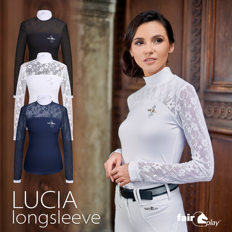 Lucia Competition Longsleeve Show Shirt by Fair Play