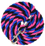 Bright Colored Cotton Lead Ropes - Neon & Glitter