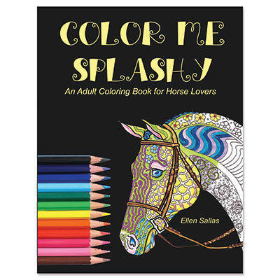 Color Me Splashy Adult Coloring Book