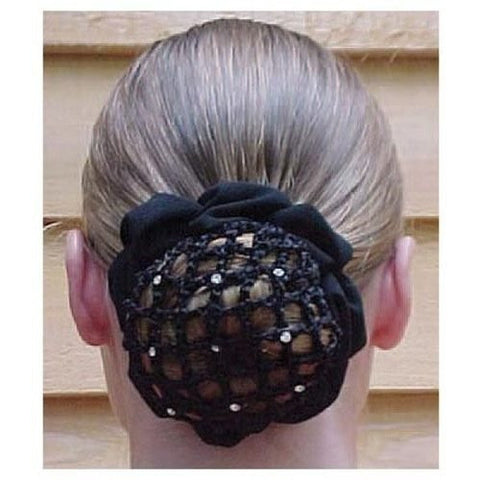 Best Ever Dressage Rhinestone Bun Cover