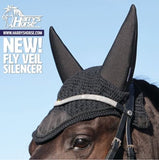 Silencer Fly Veil by Harry's Horse (noise-cancelling)