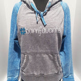 """#barn favorite"" Fleece Hoodie by #basicequestrian"
