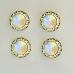 Swarovski Crystal Number Magnets -set of 4