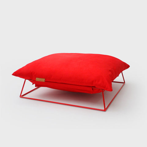 Castella Cushion (Red)