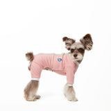 dog shirts, dog pajama, dog jumpsuit, pajama, Schnauzer, jumpsuit, velcro, dog sweater, handmade, dog shirt, dog winter, warm clothing, for dog, dog clothing, pet clothes, made in korea, clothing for dog, shirt for dog, clothes for dog, pink