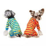 sesame street,dog shirts, dog pajama, dog jumpsuit, pajama, Schnauzer, jumpsuit, velcro, dog sweater, handmade, dog shirt, dog winter, warm clothing, for dog, dog clothing, pet clothes, cotton, made in korea, clothing for dog, shirt for dog, clothes for dog, orange, stripes clothing, pa