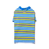 Multi Stripe T Blue/Yellow