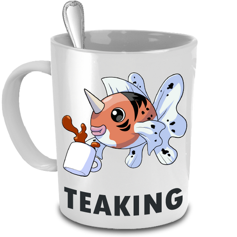 Teaking the Seaking Pokemon 15oz mug