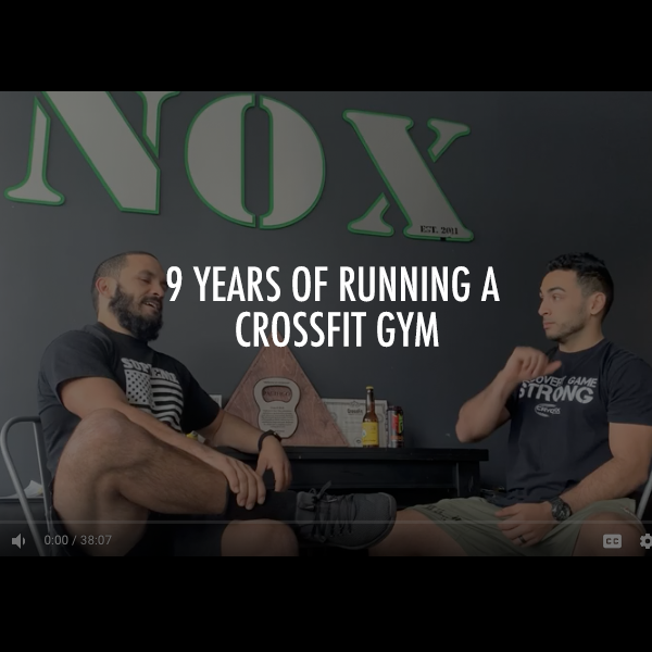 9 Years of Running a CrossFit Gym