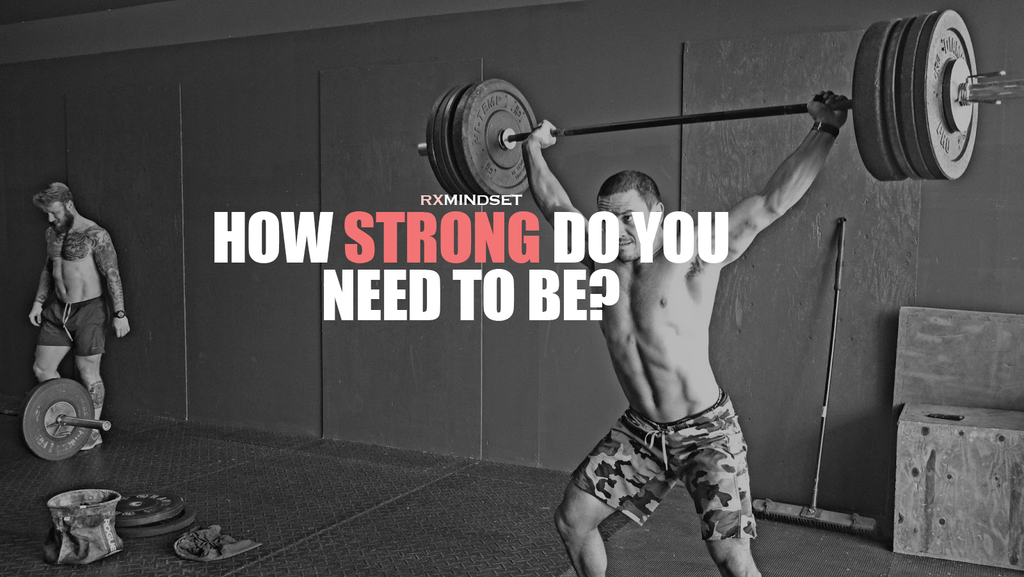 "How Strong is ""Strong enough"""