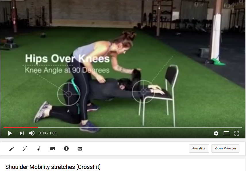 Shoulder and Thoracic Mobility for Weightlifting and CF