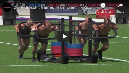 2019 CrossFit Games Team Event 1