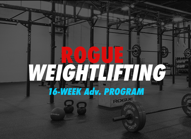Rogue Weightlifting Program