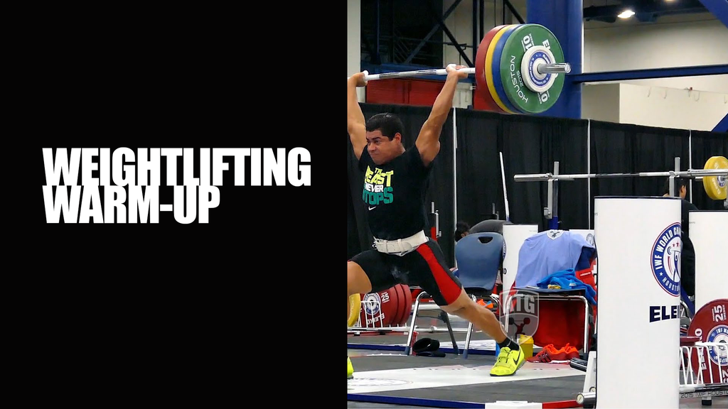 How to warm up for Weightlifting / CrossFit