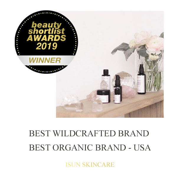 Winner - Best Organic Brand USA & Best Wildcrafted Brand