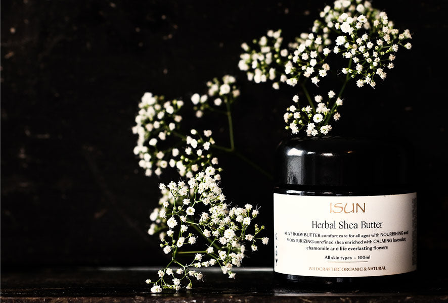 Banish Dry Winter Skin With ISUN Herbal Shea Butter