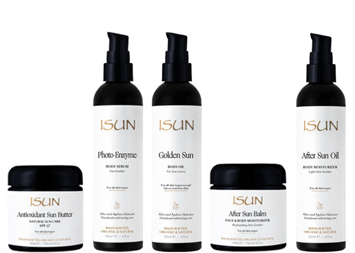 ISUN Sun Care Range