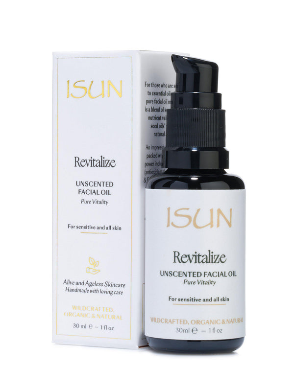 Revitalize-Facial Oil Moisturiser-ISUN Skincare UK