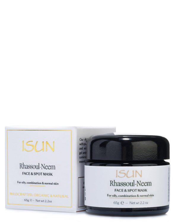Rhassoul-Neem-Mask-ISUN Skincare UK