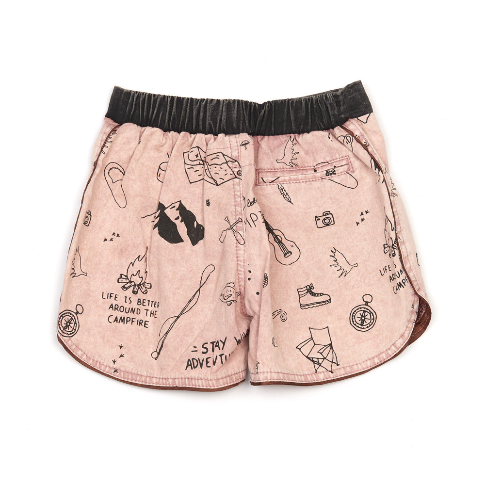 Children of The Tribe Campground Boys Shorts