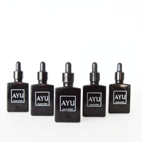 Ayu Ayurvedic Fragrant Oil - Black Musk
