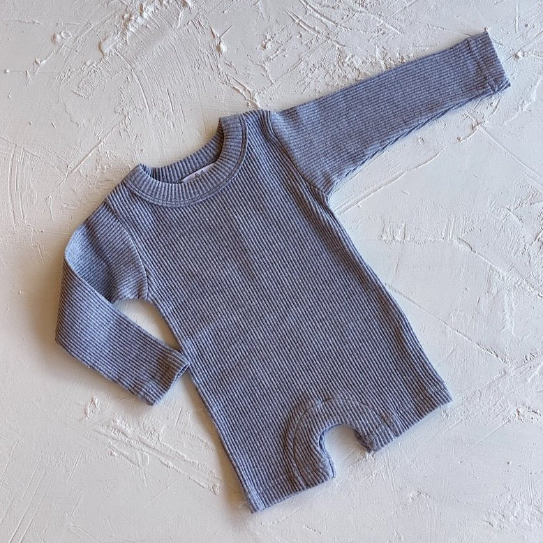 The Dylan Romper Grey