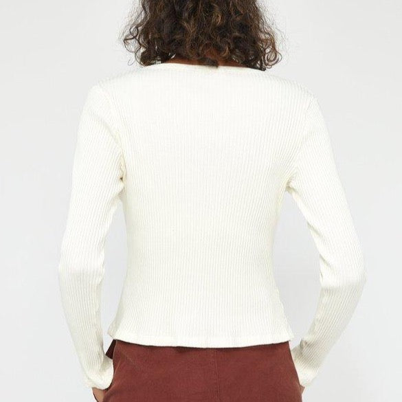 Lacausa Lucy Cardigan Oat
