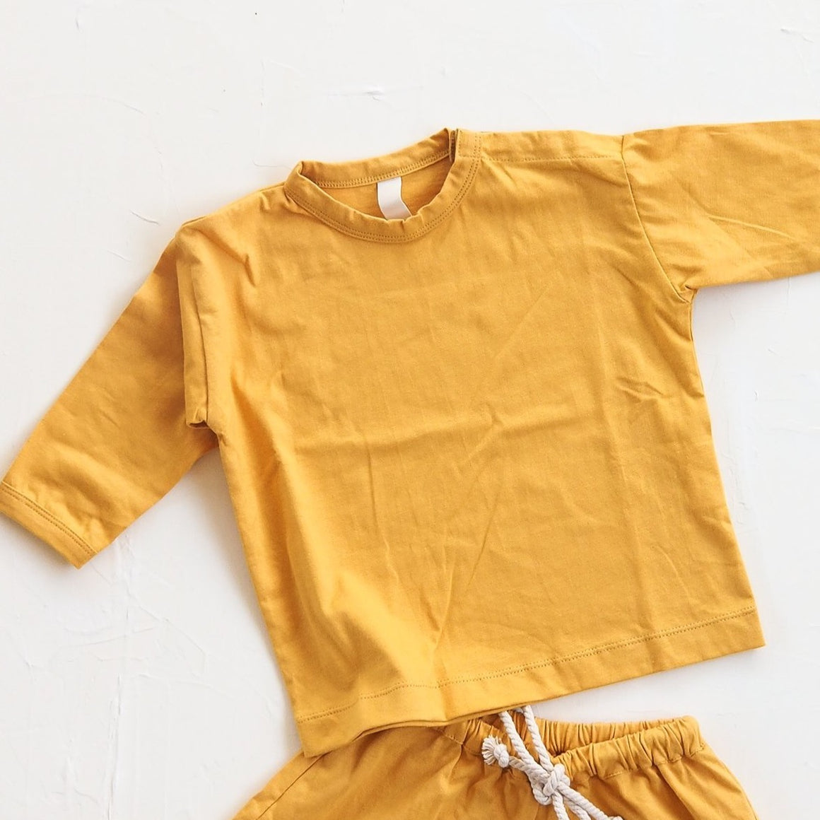 Millk Co The Basic Top Golden