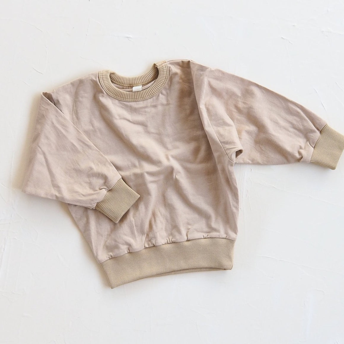 Millk Co The Basic Sweat Top Sand