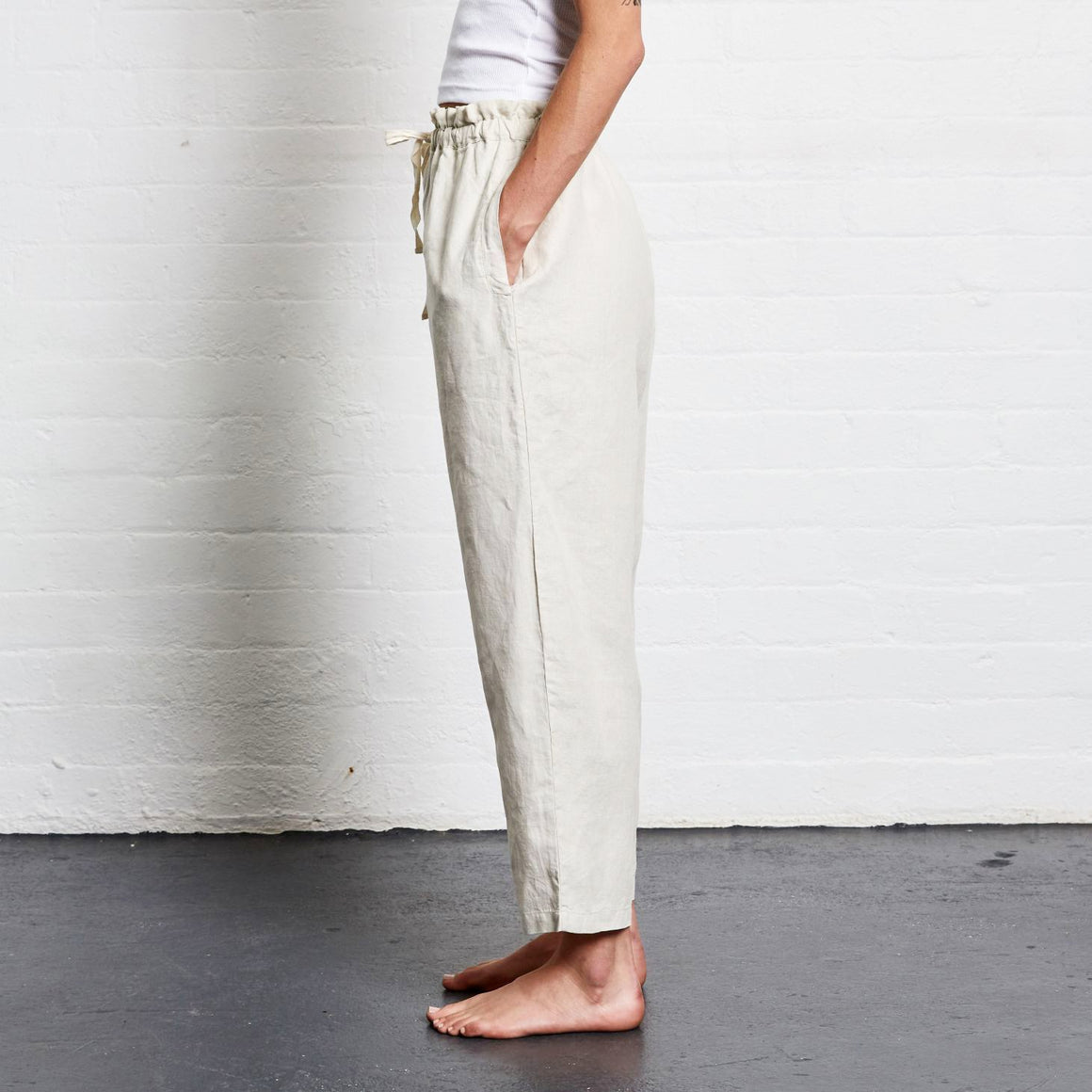 In Bed Linen Pant