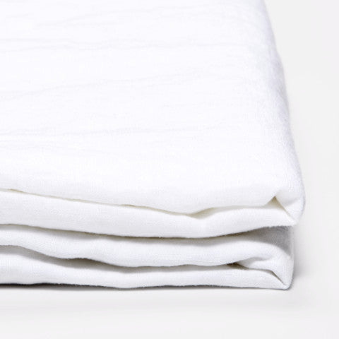 In Bed Linen Fitted Sheet White ...