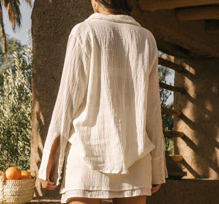 Savannah Morrow Leo Shirt Natural