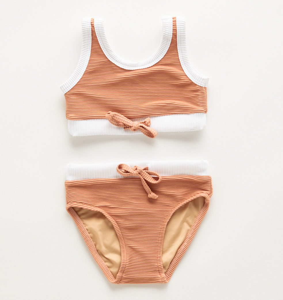 Zulu & Zephyr Mini Band Bikini Terracotta
