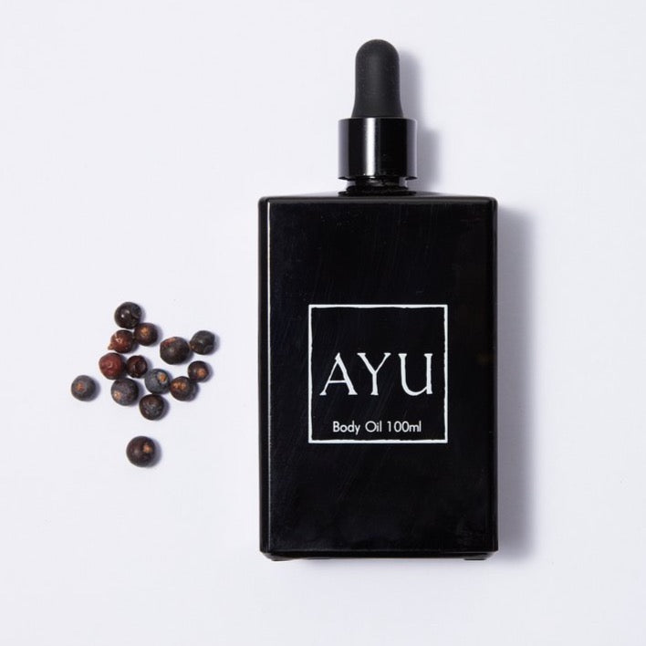 Ayu Juniper Berry, Petitgrain and Vetiver Body Oil