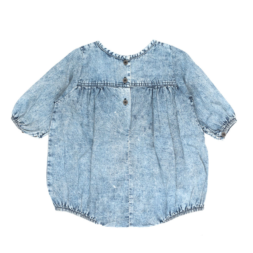 Children of the Tribe Chambray Romper