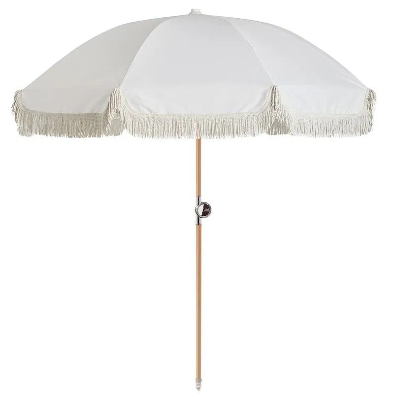 Basil Bangs Beach Umbrella - Salt