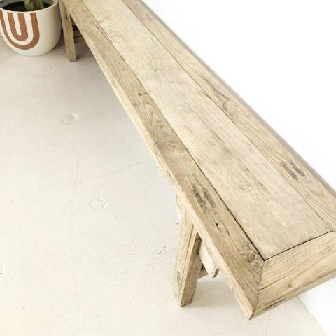 Long Elm Bench