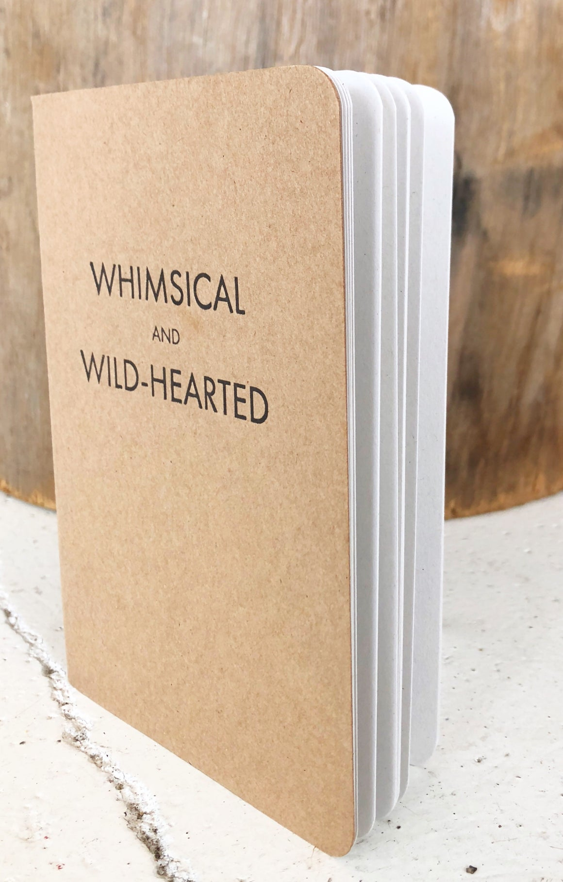 Clare Bernadette 'Whimsical and Wild Hearted' Notebook