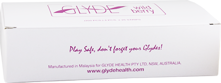 Glyde Condom - Wildberry/Purple 53mm Bulk 100's