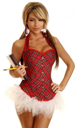2 Piece Sexy School Girl Costume - Small